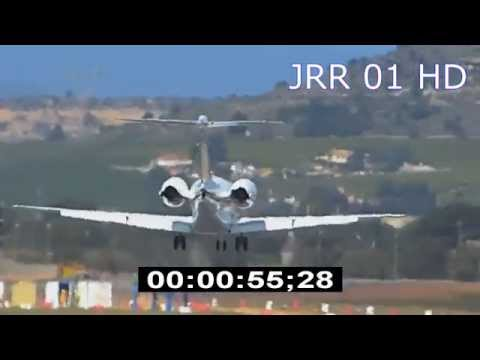 Hawker 4000 - Hawker Horizon - HD Stock Footage