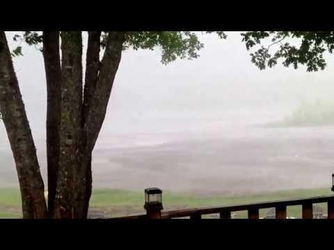July 20th tornado in New Brunswick at White's Cove.