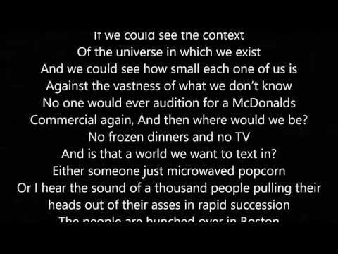 Tiny Glowing Screens Part 2 - By: Watsky (Lyrics)