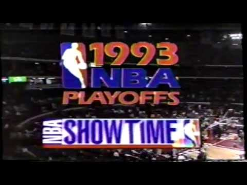 NBA Showtime on NBC Intro from 1993 NBA Playoffs