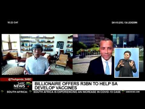 SA-born American biotech entrepreneur wants to make South Africa the Singapore of Africa in health