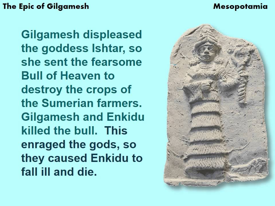 an evaluation of the epic of gilgamesh I believe that the epic of gilgamesh includes a bewildering story of a hero's  capacity to  evaluate how western world literature is closely connected to  other.