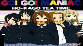 GO! GO! MANIAC - HO-KAGO TEA TIME K-ON!! Season 2 (Short Opening Version)