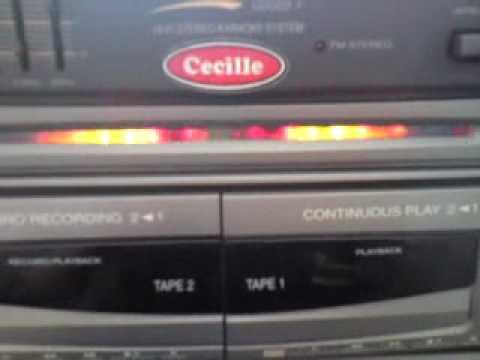 old skool sharp HK-W18 hifi karaoke system