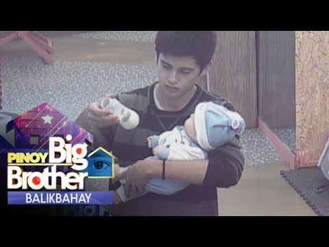 PBB Balikbahay: James Reid tries to become a father