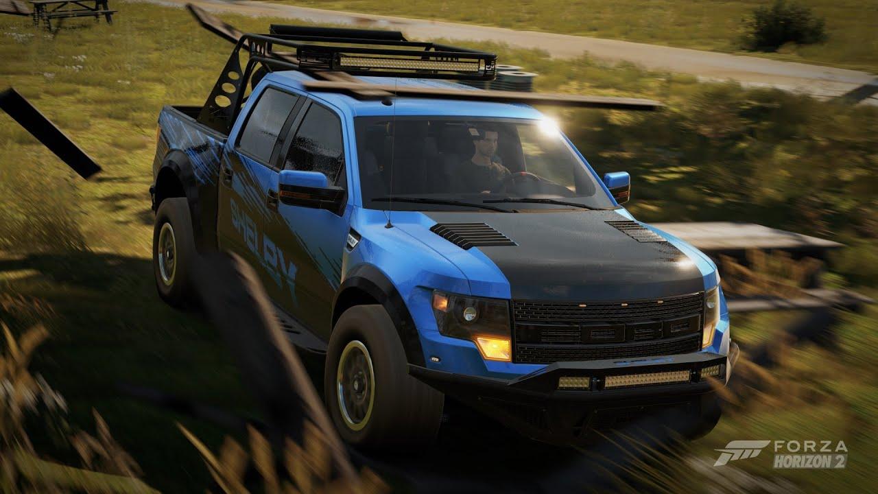 Forza Horizon 2 2013 Shelby Ford F 150 Svt Raptor