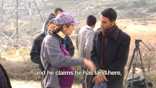 Arabs and Anarchists vs. the plantings in Netzer and the gate of Elazar