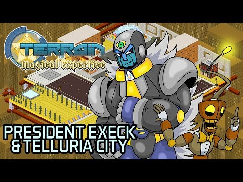 President Execk & The Telluria City - TOME RPG News Update (Aug 2019)