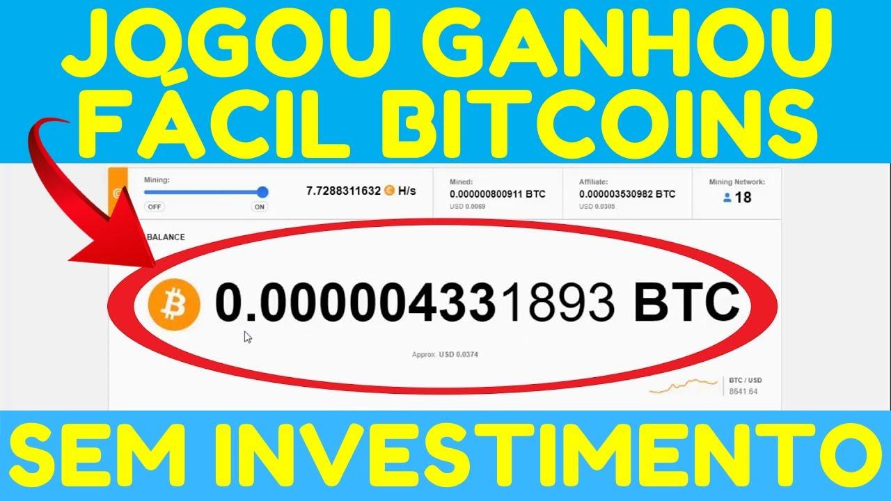 ganhar bitcoins gratis jogando)