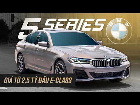 BMW 5 series từ 2,5 tỷ có gì đấu Mercedes E class?