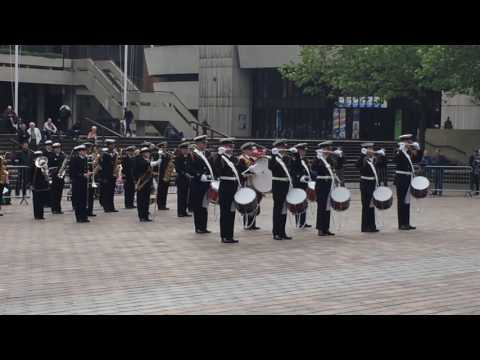 HMS Nelson at Royal Naval Volunteer Band Festival 2016
