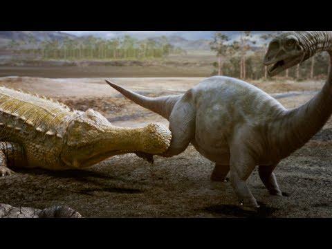 Sarcosuchus: the Dinosaur Killing Crocodile | Deadly Dinosaurs | Earth Unplugged
