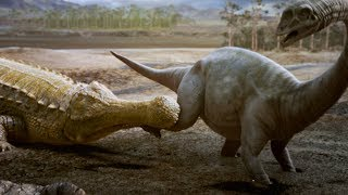 Sarcosuchus: the Dinosaur Killing Crocodile | Deadly Dinosaurs | Earth Unplugged