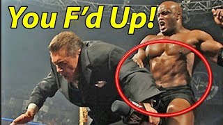 Top 5 Wrestling Botches!  You F'd Up!