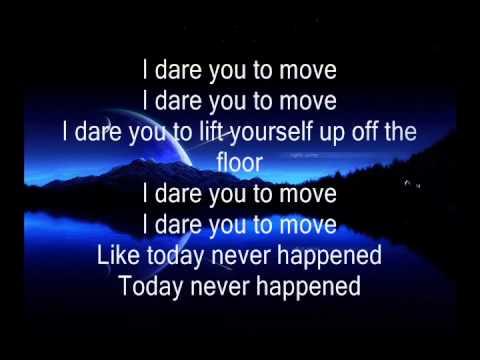 Switchfoot Dare You To Move Lyrics