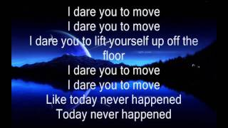 Switchfoot Dare You To Move Lyrics
