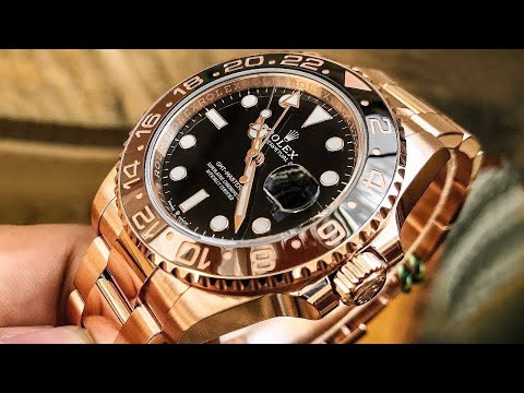 ROLEX - GMT Master II Root Beer Everose - New 2018 Smoking HOT!