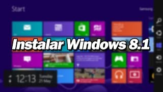 Formatear una PC e Instalar Windows 8.1 desde Cero 2017 - HD