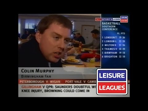 Colin Murphy Sky Sports Fanzone | Leisure Leagues