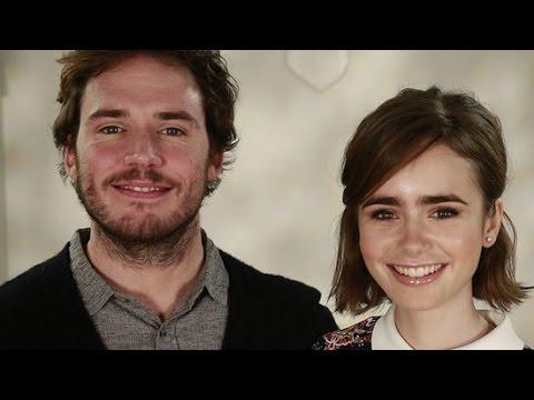 Sam Claflin on Fifty Shades: I Can't Wait to See Jamie Dornan