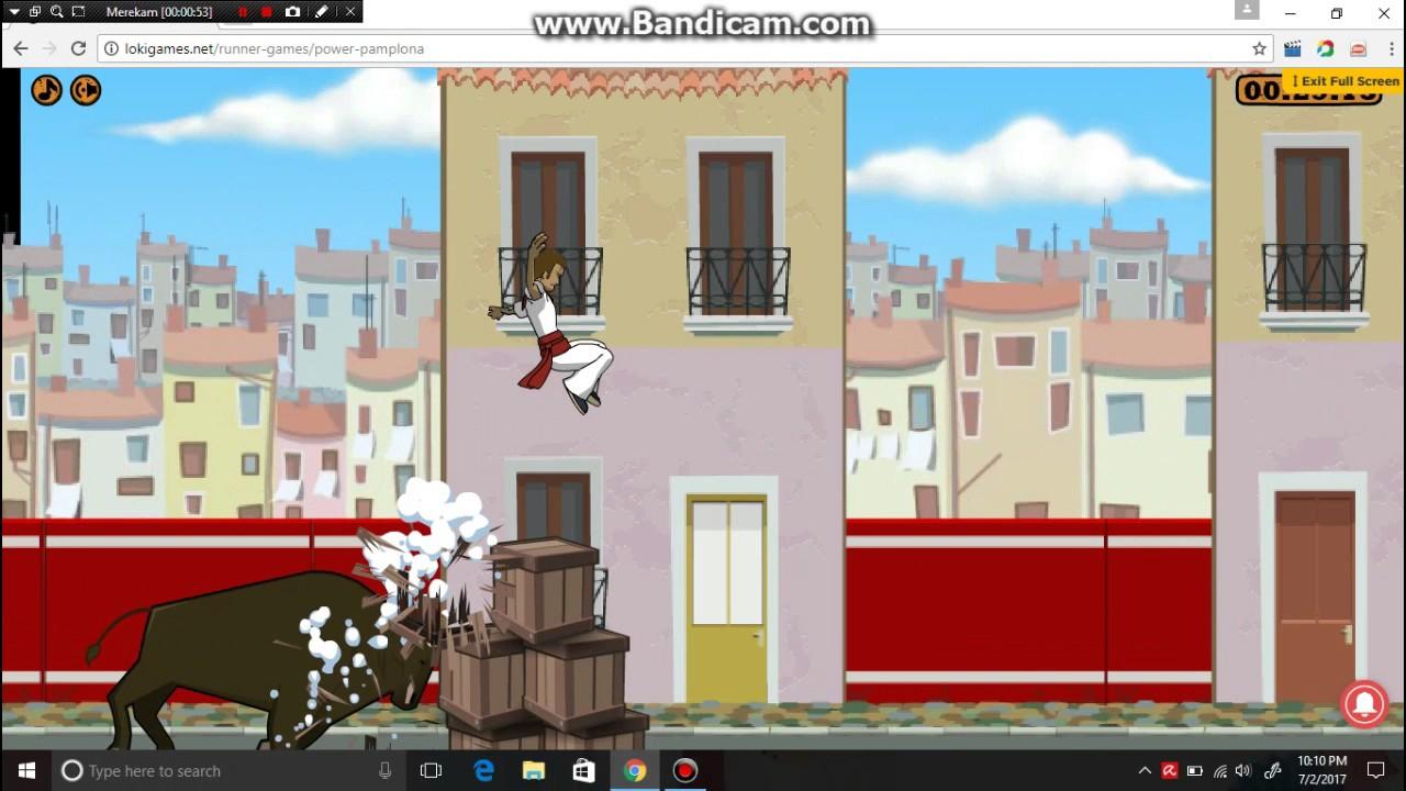 Power Pamplona - (part 1-dikejar banteng)wkwk - game friv ...