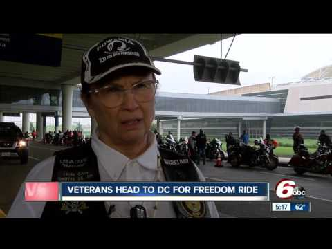 Veterans head to DC for freedom ride