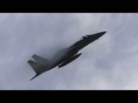 幻となったベイパー祭! 2017 小松基地航空祭 第303飛行隊 機動飛行 事前訓練 / JASDF KOMATSU AIR BASE F-15J AIR SHOW PRACTICE 2017.9.8