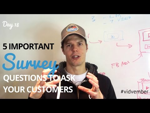5 Important Survey Question Examples To Ask Your Customers - Day 18