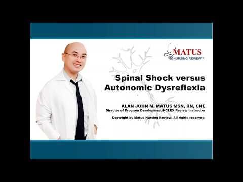 Spinal Shock versus Autonomic Dysreflexia NCLEX Quick Tips
