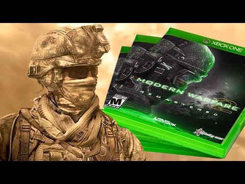 MW2 REMASTERED OFFICIALLY CONFIRMED!? APRIL 30TH, 2018 RELEASE DATE (Amazon Leak)