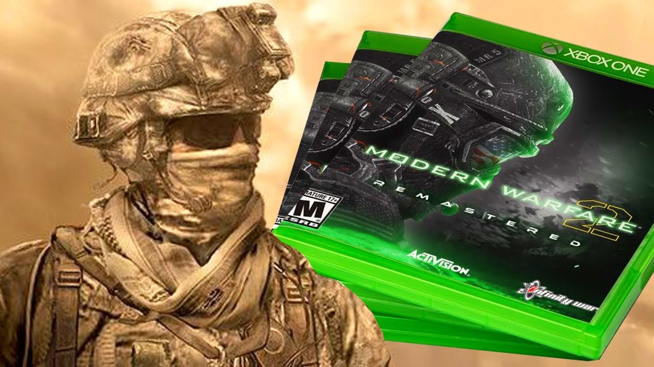 Mw2 Remastered The Leak That Started It All Youtube