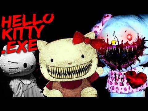 HELLO KITTY HORROR?! GOODBYE KITTY.EXE [Scary Hello Kitty.exe Children Horror]