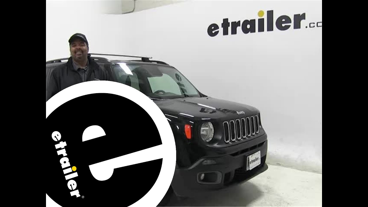 Review Of The Thule Roof Rack On A 2015 Jeep Renegade   Etrailer.com