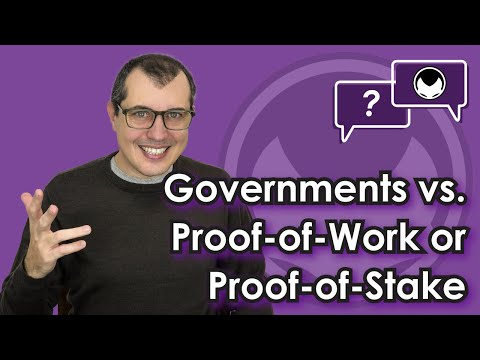 Bitcoin Q&A: Governments Vs. Proof-of-Work Or Proof-of-Stake