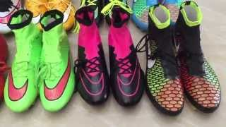Nike Mercurial Superfly And NIke Magista Obra FG Show Intense Heat Silver Storm Pack