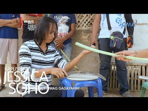 Kapuso Mo, Jessica Soho: Ilang kalalakihan sa Cebu, hindi tinatablan ng patalim?!