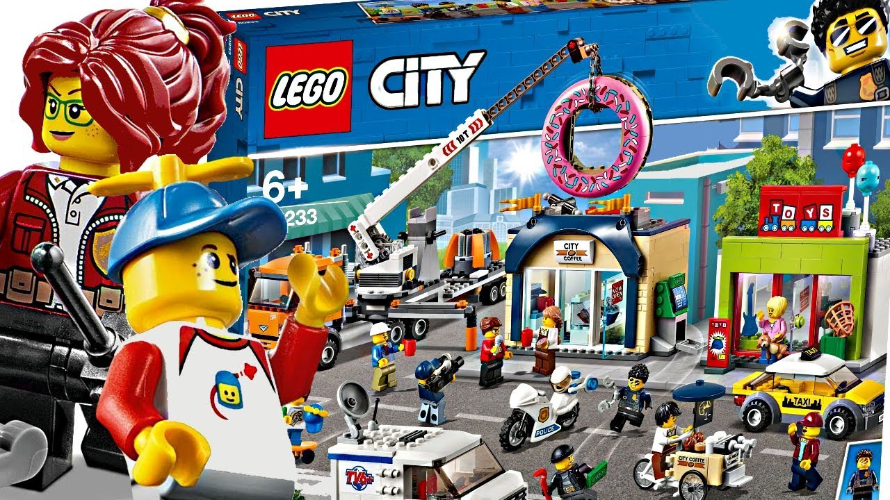 Lego City 2019 Summer Sets Lego City Is Great Again Youtube