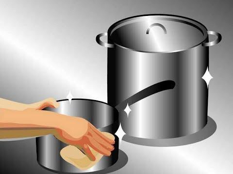 Cara Membersihkan Dan Mencuci Panci Masak Stainless Steel