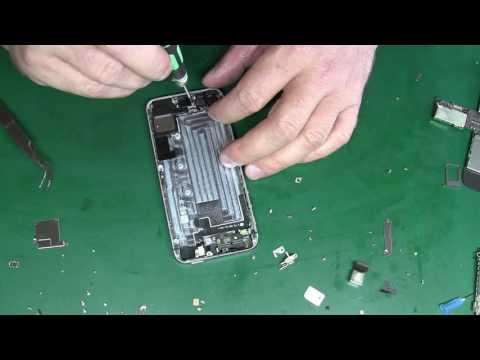 IPhone 5s не работает вибро (замена шлейфа)