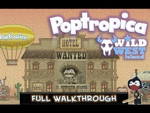Poptropica Cheats For Wild West Island - Walkthrough