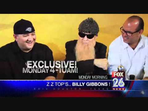 Promo for Billy Gibbons interview by Dave Morales