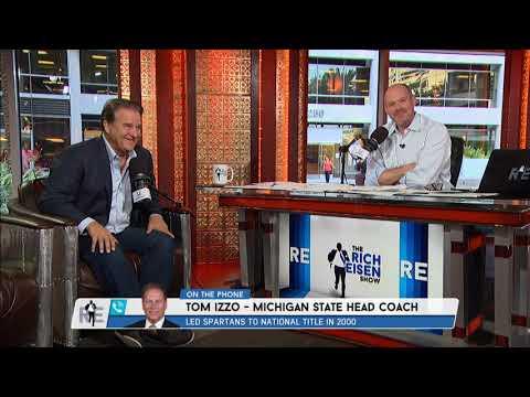 Michigan State Basketball Coach Tom Izzo Trolls Rich Eisen About Michigan