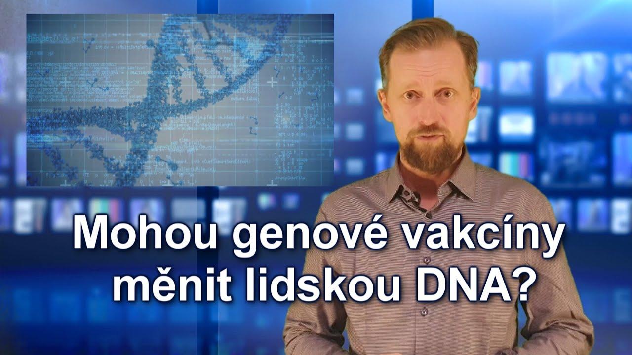 Mohou genove vakcíny na covid-19 měnit lidskou DNA?