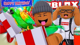 My BEST FRIEND Threw Me a Surprise BIRTHDAY PARTY in Roblox!