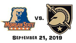 September 21, 2019 - Morgan State Bears vs. Army Black Knights Full Football Game