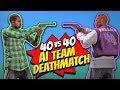 GTA 5 | AI WARS - BALLAS vs The FAMILIES - TDM