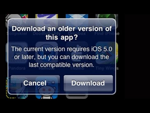 This Application Requires IOS 7 IOS 8 IOS 6 IOS 5 Or Later, FIX IPhone 4 IPad 1 Iphone 3GS