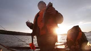 Северные озера Карелии Рыбалка на спининг и удочку