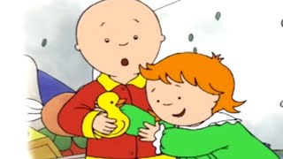 Caillou English Full Episodes | Caillou hates sharing | Cartoons for Kids | Caillou Holiday Movie
