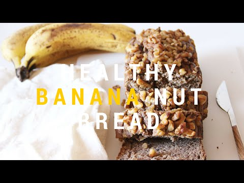 """Healthy """"Date-Sweetened"""" Banana Nut Bread - Banana Muffin Recipe (Gluten-Free) from YouTube · Duration:  4 minutes 43 seconds"""